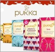 Pukka produkter, ekologiskt certifierade.
