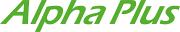 Logotyp för Alpha Plus