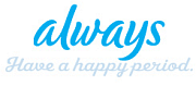 Logotyp för Always