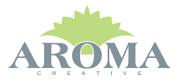 Logotyp för AROMA Creative