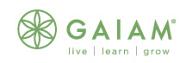 Logotyp för Gaiam