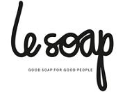 Logotyp för Le Soap
