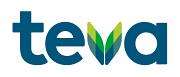 Logotyp för Teva
