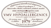 Logotyp för VMV Hypoallergenics