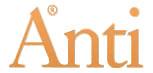 Logotyp för Anti