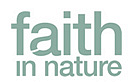 Logotyp för Faith In Nature
