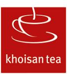 Logotyp för Khoisan Tea