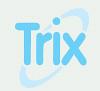 Logotyp för Trix