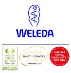 Logotyp för Weleda
