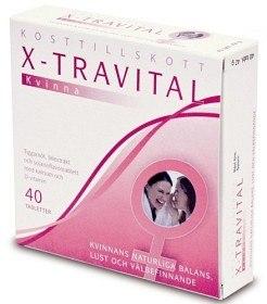 Bild på X-travital Kvinna 40 tabletter