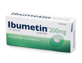 Bild på Ibumetin, tablett 200 mg 30 st