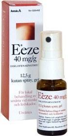 Bild på Eeze, kutan spray, gel 40 mg/g 12,5 gr