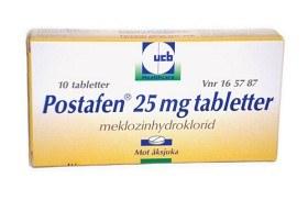 Bild på Postafen, tablett 25 mg 10 st