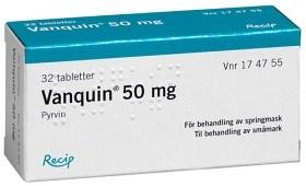 Bild på Vanquin, dragerad tablett 50 mg 32 st