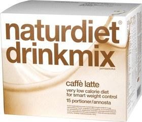 Bild på Naturdiet Drinkmix Caffe Latte 15 portioner