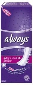 Bild på Always Long Plus trosskydd 22 st parfymerad