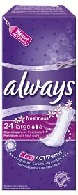 Bild på Always Freshness Large trosskydd 24 st parfymerad