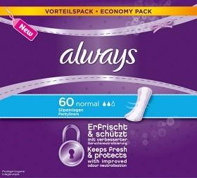 Bild på Always Normal Trosskydd 60 st parfymerad