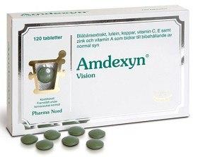 Bild på Amdexyn Vision 120 tabletter
