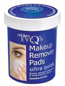 Bild på Andrea Eye Q's Remover Pads Ultra Quick 65 st