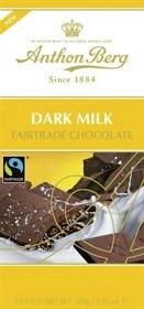 Bild på Anthon Berg Dark Milk Fairtrade 100 g