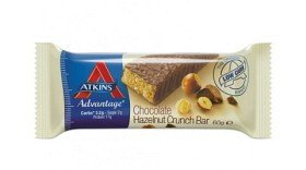 Bild på Atkins Advantage Chocolate Hazelnut Crunch Bar 60 g