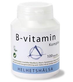 Bild på Helhetshälsa B-vitamin Komplex 100 kapslar