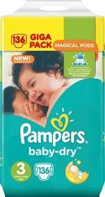 Bild på Pampers BabyDry S3 5-9 kg 136 st