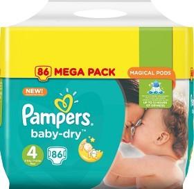 Bild på Pampers Baby-Dry S4 8-16 kg 86 st