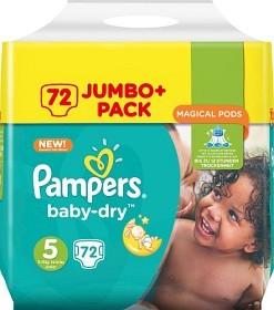 Bild på Pampers Baby-Dry S5 11-23 kg 72 st