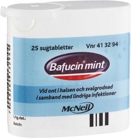 Bild på Bafucin Mint, sugtablett 25 st