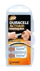 Bild på Batteri Duracell Activair 312, 6 st