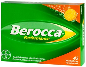 Bild på Berocca Performance Apelsin 45 st