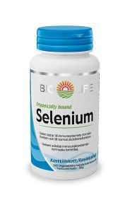 Bild på Bio-Life Selenium 100 kapslar