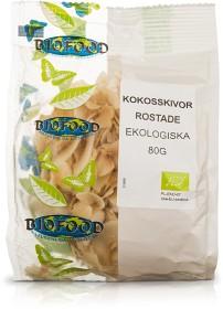 Bild på Biofood Kokosskivor rostade 80 g