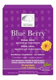 Bild på Blue Berry 120 tabletter