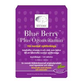Bild på Blue Berry Plus Ögonvitamin 120 tabletter