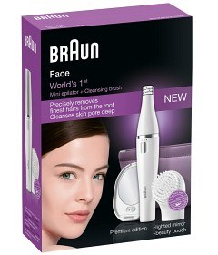 Bild på Braun SE830 Face Epilator + Cleansing Brush