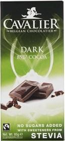 Bild på Cavalier Choklad Stevia Dark 85 g