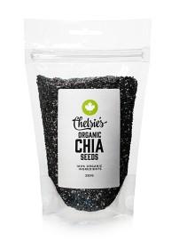 Bild på Chelsies Organic Chia Seeds 250 g