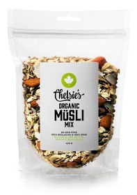 Bild på Chelsies Organic Müsli Mix 425 g