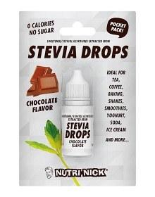 Bild på Nutri-Nick Stevia Drops Pocket Pack Choklad 10 ml