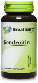 Bild på Great Earth Chondroitin CSA Sulfate A 500 mg 60 kapslar