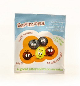 Bild på Clearly Scrumptious Blueberry Scrummies 20g