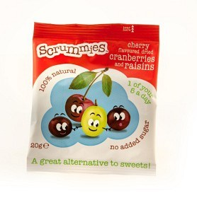 Bild på Clearly Scrumptious Cherry Scrummies 20g