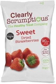 Bild på Clearly Scrumptious Sweet Dried Strawberries 30g