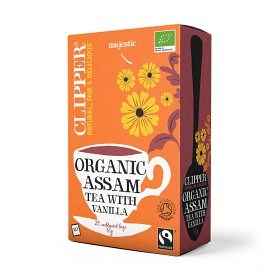 Bild på Clipper Organic Assam with Vanilla 20 st