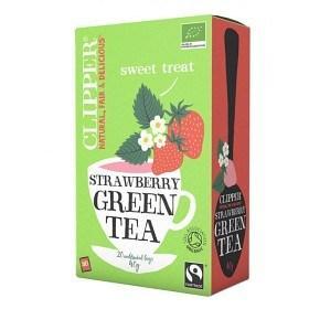 Bild på Clipper Green Tea Strawberry 20 st