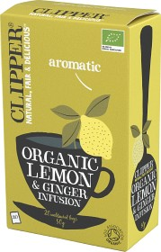 Bild på Clipper Organic Lemon & Ginger Infusion 20 st