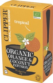 Bild på Clipper Organic Orange & Coconut Infusion 20 st